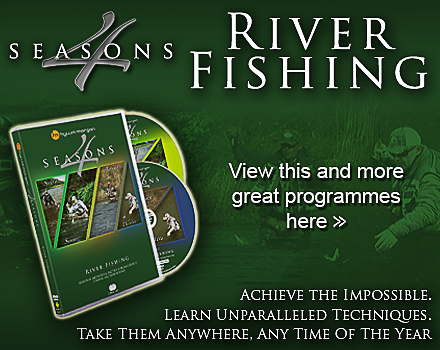 HM 4 Seasons  River Fishing DVD. Found in the online shop