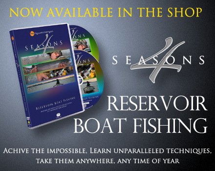 HM 4 Seasons  Reservoir Boat Fishing DVD. Found in the online shop